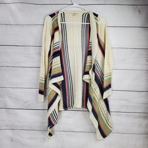 Say What? Waterfall Knit Open Front Cardigan
